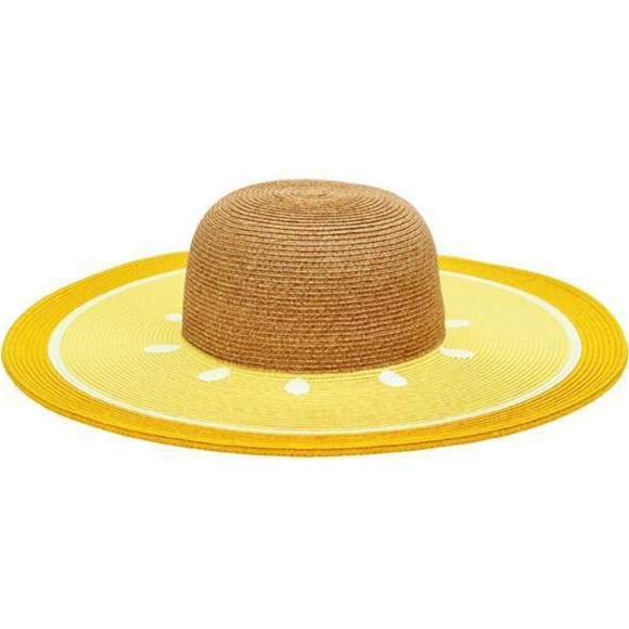 1bda52a5692 San Diego Hat Company Yellow Lemon Fruit Floppy Ha